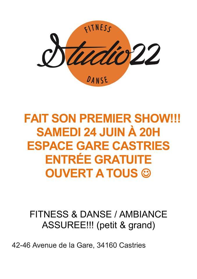 affiche gala studio 22